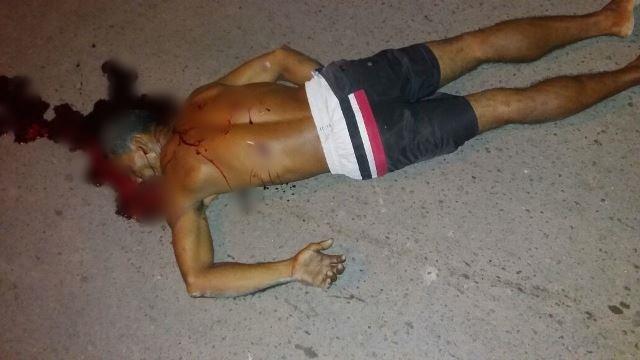 Elivaldo fooi atropelado e morto a facadas pelos enteados. Fotos: PM e Olho de Boto