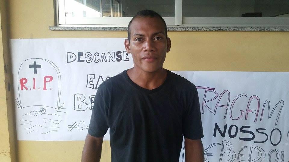 Aldemir, estudante. Fotos: Valdeí Balieiro