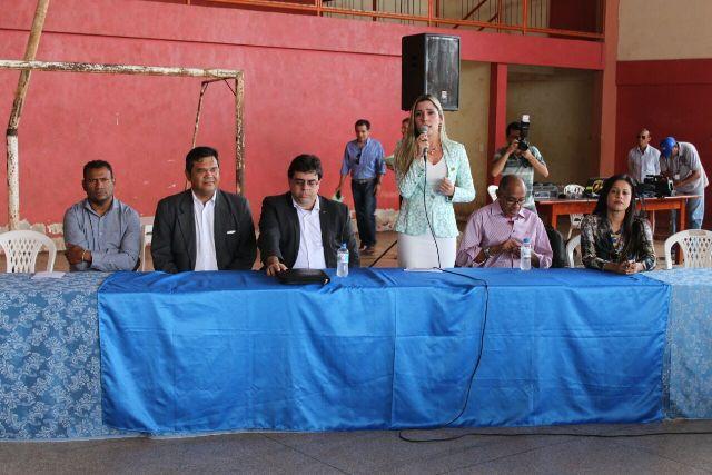 DNIT anunciou novo projeto do terminal com a presença de autoridades. Fotos: Valdeí Balieiro