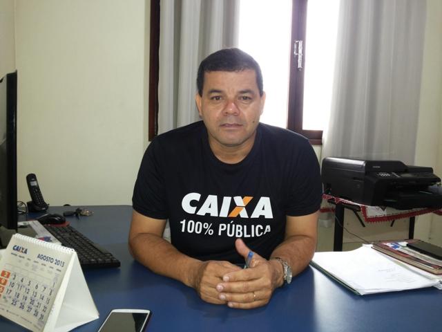 Presidente da Sintraf, Edson Gomes. Categoria defende reajuste de 14%