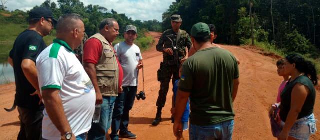 Operação realizou uma série de ações de notificação autuação de crimes ambientais. Fotos: divulgação