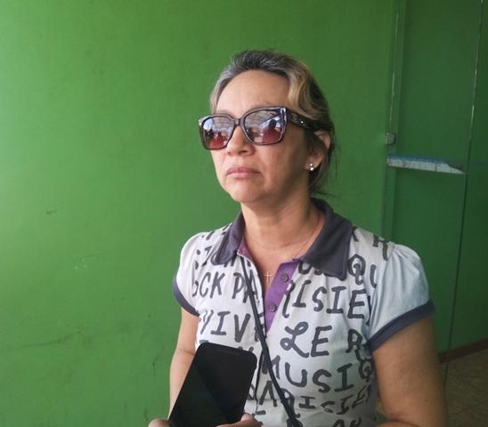 Raimunda xxx, estava aguardando a sobrinha do lado de fora do quitinete onde ocorreu o crime