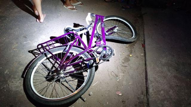 Bicicleta de Genilson, de apenas 19 anos