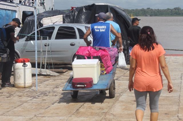 O Porto do Grego é ainda a principal via de entrada hidroviária para quem deseja se deslocar entre o Amapá e o Pará