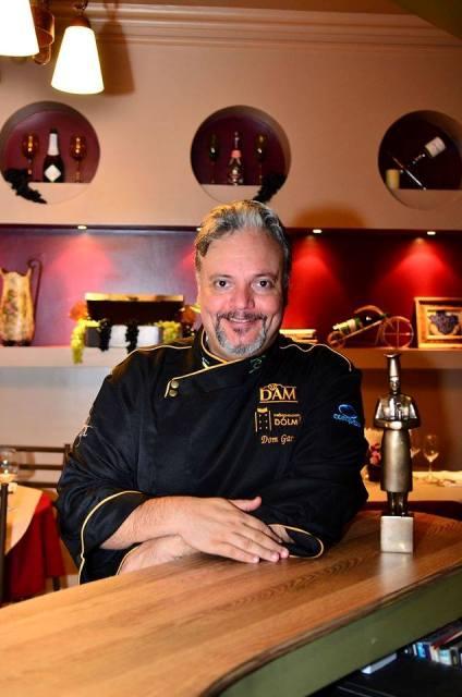 Dom Garcia, do Kitanda Café Bistrô também participa