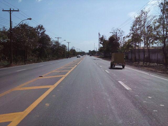 Trecho alargado já deu mais fluidez ao trânsito. Foto: Arquivo/SELESNAFES.COM