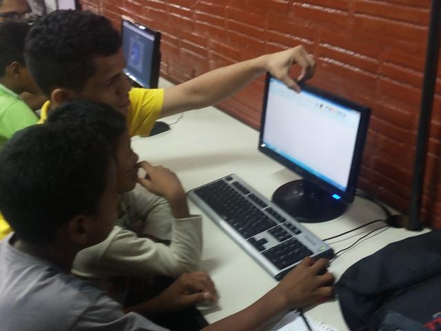 Público teve aulas de infomática básica