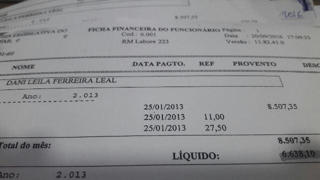 Último salário foi pago em janeiro de 2015