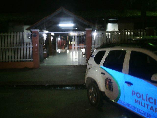 Escola Cecília Pinto foi o alvo mais recente dos criminosos. Vigilante trabalhava desarmado. Foto: Olho de Boto
