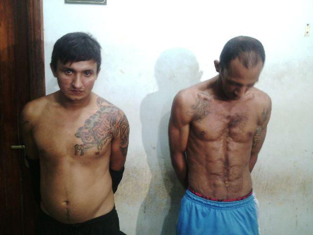 Benedito dos Santos, 31 anos; e Reginaldo Lopes da Silva, de 36 anos, já tinha passagens por homicídio e roubo. Fotos: Olho de Boto