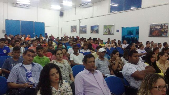 Auditório do Sebrae ficou lotado. Fotos: André Silva
