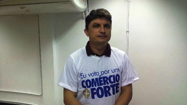 Eliezir Viterbino, presidente da Fecomércio: é aqui que vamos saber o candidato planeja para o setor