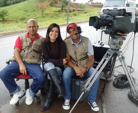 Francy Rodrigues e equipe se preparam para mais uma participação em ao vivo no Distrito Federal: descobriu a doença em 2009