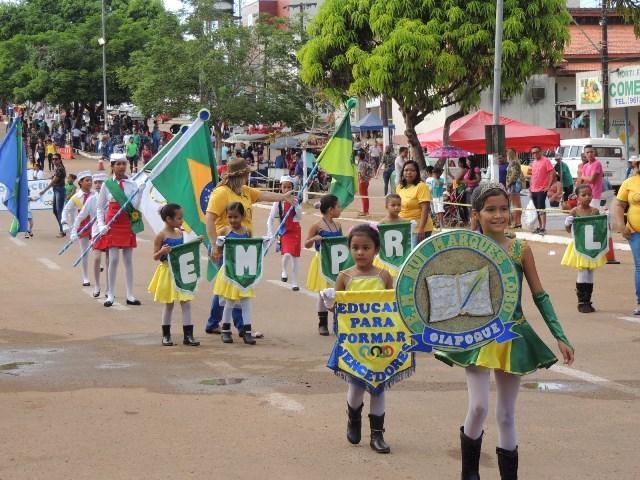 Alunos de escolas estaduais e municipais participaram da festa