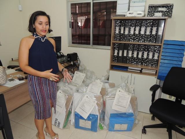 Juíza Laura Costeiro: de plantão até depois do dia da votação. Fotos: Humberto Baía