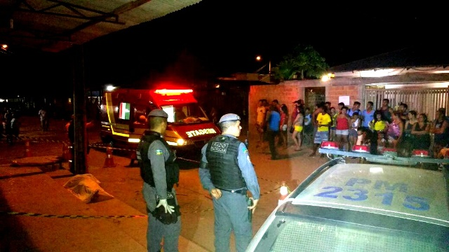 Matador tinha ido à casa da vítima, segundo testemunhas
