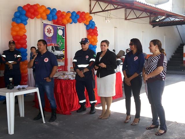 Café da manhã de comemoração foi oferecido aos servidores do Samu. Fotos: