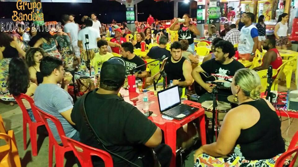 Primeira temporada da roda foi Bar do Nego, na Beira Rio. Fotos: divulgação