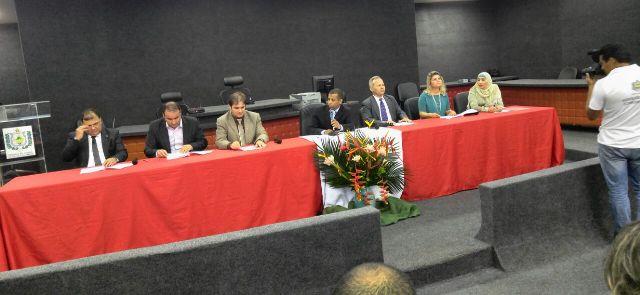 Assembleia de criação da entidade contou com presença de representantes sindicais de outros estados. Fotos: divulgação