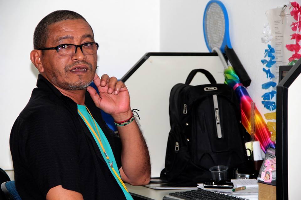 Chefiou a redação do JD por mais de uma década. Aqui como assessor no governo Camilo Capiberibe. Foto: Arquivo pessoal