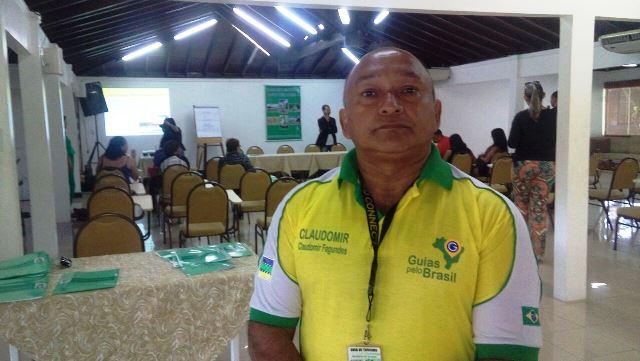 Presidente do Sindicato dos Guias de Turismo do Amapá (Singtur), Claudemir Fagundes. Fotos: André Silva