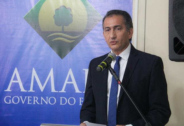 Governador Waldesz Góes. Com universalização da prática da transparência, a sociedade ganha. Fotos: Ruan Alves (Secom)