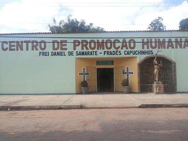 Entrada do Centro de Promoção Humana