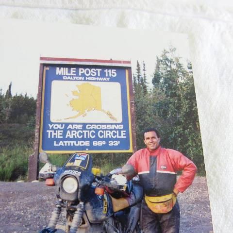 Desbravando o Alasca, em 1989