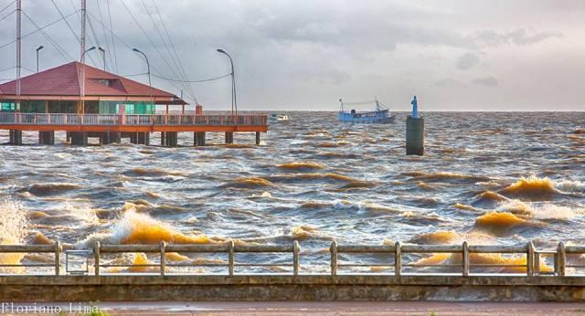 A fotografia 'O grande rio' teve mais de 300 compartilhamentos no facebook