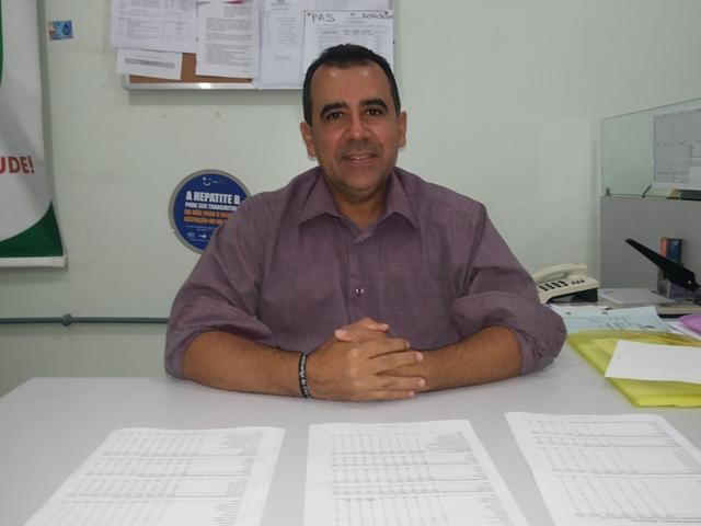 Técnico da CSV, Florinaldo Pantoja. Dados considerados alarmantes. Foto: Cássia Lima