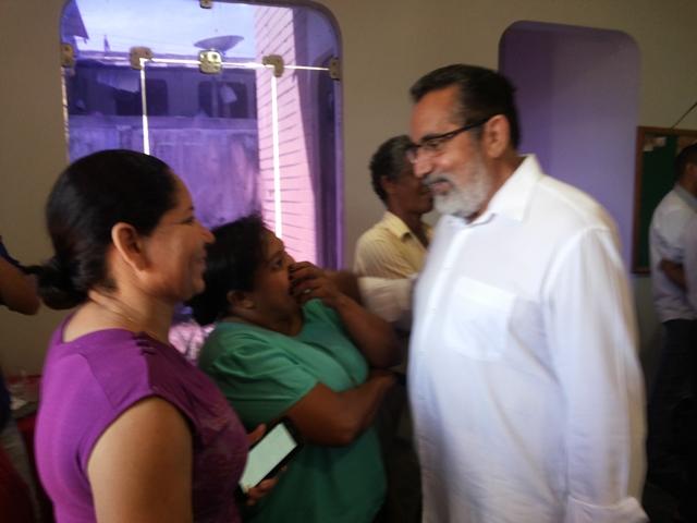 Gilvam conversa com militantes: mais 9 partidos