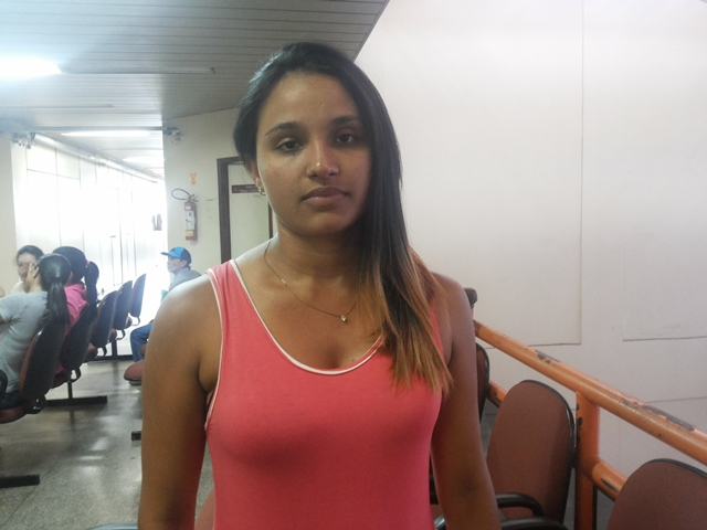 Jaciane Leite Muniz Andrade, filha da empresária. Espera que justiça seja feita. Foto: Cássia Lima