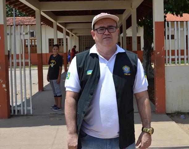Promotor Adilson Garcia: desapontamento. Foto: Cássia Lima