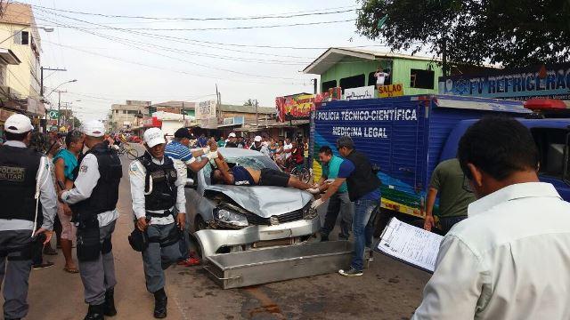 Politec remove corpo da vítima: triste fim para um trabalhador