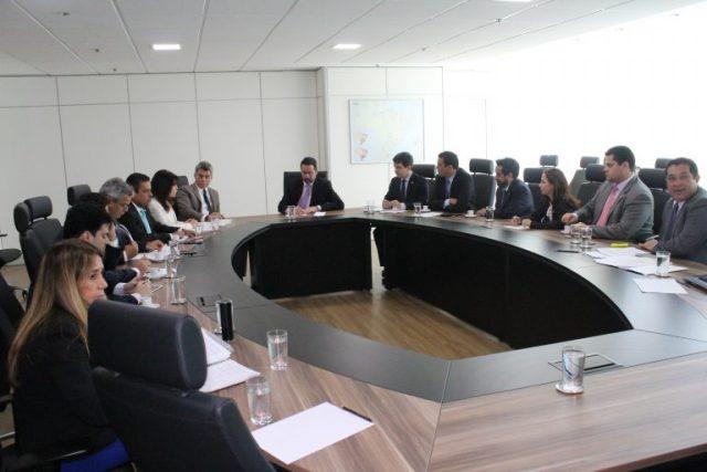 Reunião das bancadas do Amapá e de Roraima para tratar da PEC com Ministro