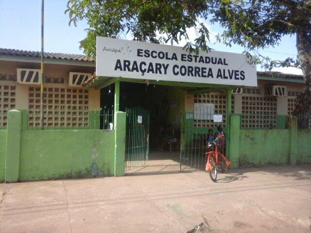 Escola Araçary Correa Alves foi furtada 6 vezes em um mês. Fotos: Leonardo Melo