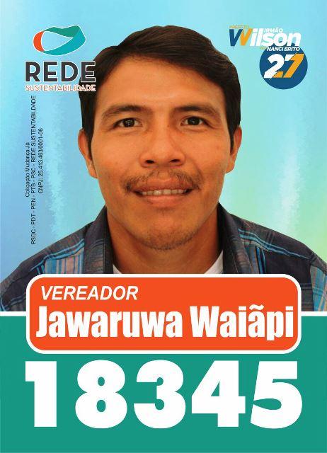 Jawaruwa Waiãpi, único vereador eleito