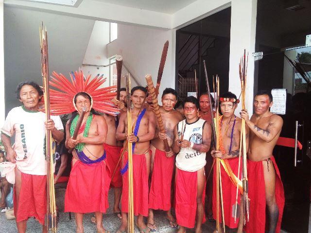 Ocupação do Dsei denuncia problemas na assistência a saúde indígena e pede saída de atual coordenadora. Fotos: André Silva