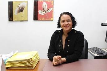 Juíza Gelcinete da Rocha Lopes, titular do Juizado da Infância e Juventude- Área Infracional. Crueldade dos crimes praticados preocupa. Fotos: ascom Tjap