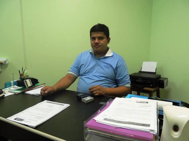Diretor do hospital, capitão BM Domingos: registros do atendimento não foram encontrados