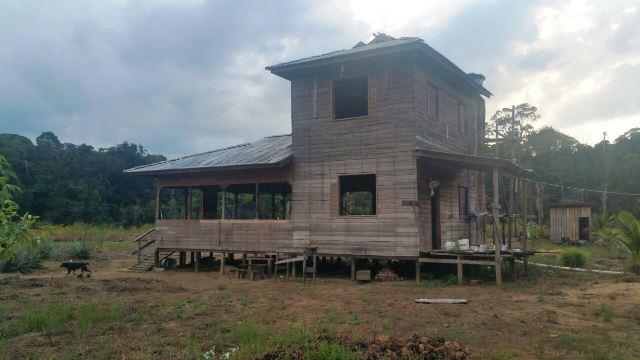 """Casa onde o caseiro e o """"hóspede"""" dormiram por duas noites. Fotos: PC/Divulgação"""