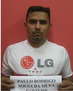 Paulo Rodrigo tinha dois mandados de prisão por tráfico. Foto: Iapen