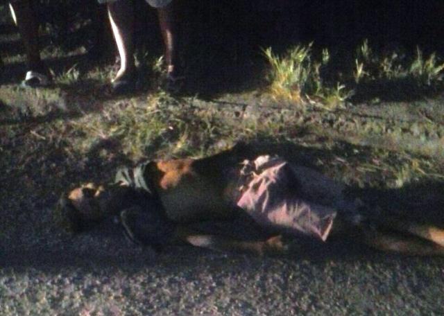 'Vaguinho' morreu ainda no local. Fotos: Olho de Boto