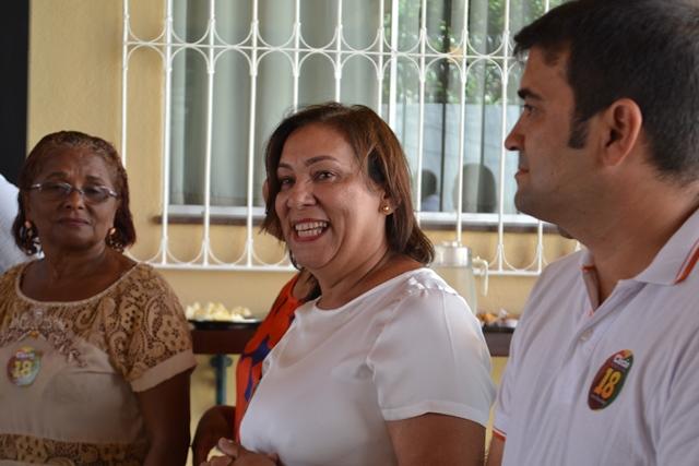 Prefeita eleita em Pracuúba, Belize Ramos