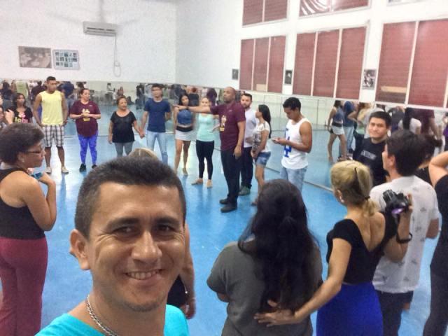 Ricardo Marinho é um dos pioneiros em ministrar aulas de dança de salão no Amapá