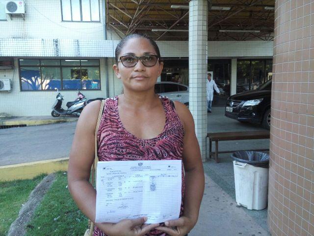 Josely Calazan. Família está tendo que custear medicação que deveria ser fornecida pela unidade. Fotos: André Silva