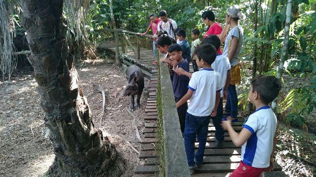 Estudantes já começaram a fazer visitações ao local. Fotos: Valdeí Baleiro