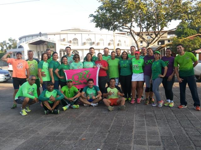 Equipes formadas a partir de assessorias esportivas tem mudado a rotina de muitos macapaenses. Fotos: Cássia Lima