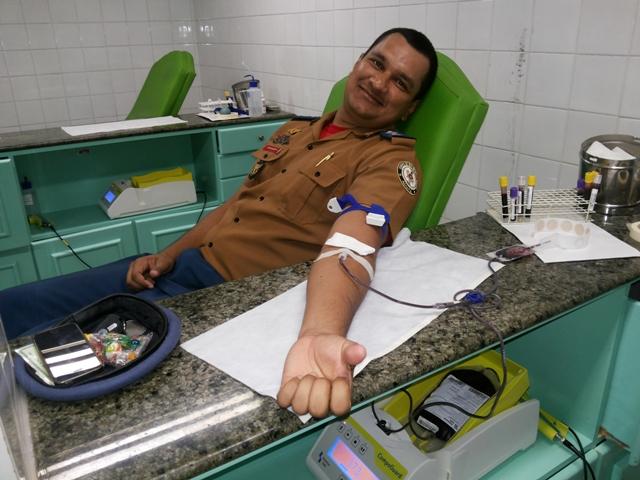 Capitão Helder: doação é gesto de caridade