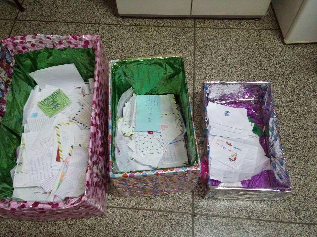 Crianças de diferentes partes de Macapá pedem presente para o Papai Noel. Fotos: André Silva